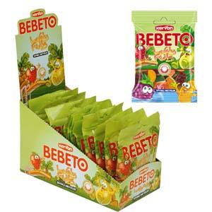 Bebeto Lovely Fruits (100g)