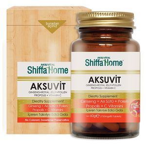 Shiffa Home - Aksuvit - 80 kapsler - 750mg