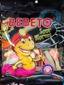 Bebeto - Sour Worms 100g