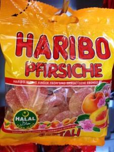 Haribo - Fersken 100g