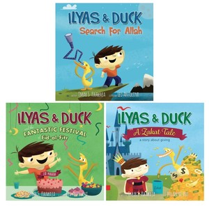 Ilyas and The Duck - Alle tre bøger