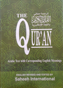 The Quran - Arabic Text with Corresponding English Meanings