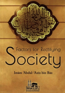Factors For Rectifying Society