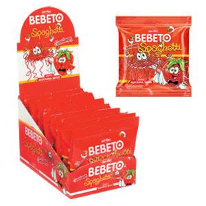 Bebeto - Jordbær Spaghetti (100g)