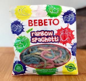 Bebeto - Rainbow Spaghetti 80g