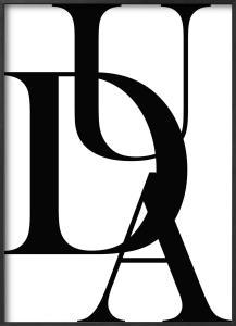 Plakat - DUA (50x70cm)