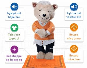 Penny the Prayer Bear bamse