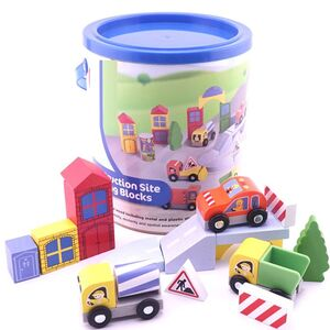 Multicoloured Building Blocks Construction - 50 pcs - ages 3 +