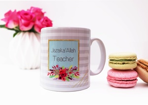 Mug - Jazakallah Teacher