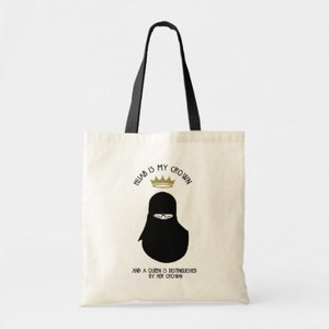 Tote Bag - Hijab Is My Crown