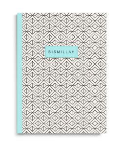 Notesbog - Bismillah i lyseblå