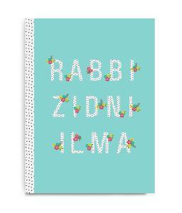 Notesbog - Rabbi Zidni Ilma - Aqua
