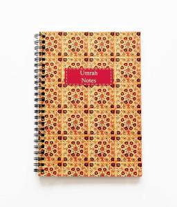 Notesbog - Umrah notes med kalligrafi