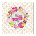 Postcard - Eid Greetings - Floral Heart Wreath