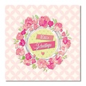 Postcard - Eid Greetings - Floral Pink