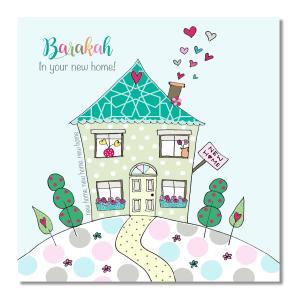 Postkort - Barakah In Your New Home!