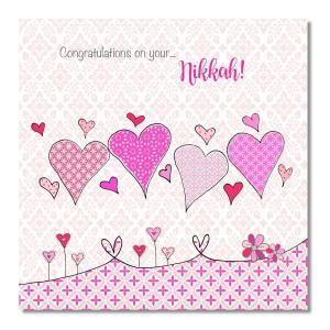 Postkort - Congratulations On Your Nikkah!