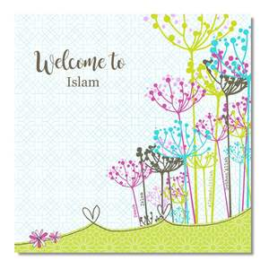 Postkort - Welcome to Islam