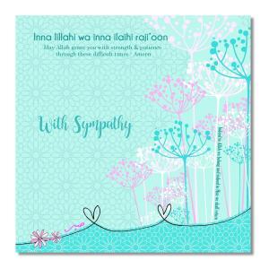 Postkort - With Sympathy - Inna lilla hi wa inna ialihi rajioon