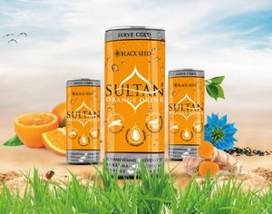 Sultan Drinks - Black Seed Orange Drink 250ml